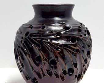 decorative pottery vase