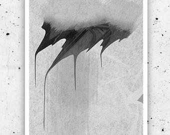 "Artwork. ""ERASED"". Print. Prints shop. Wall decor. Wall art. Interior decor. Gift. Prints. Art. Photography. Black and white. Black print."