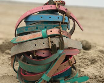 Belt Handcrafted sizes: 55cm-65cm-75cm-85cm-95cm
