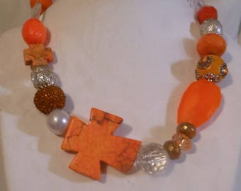 Orange Cross set