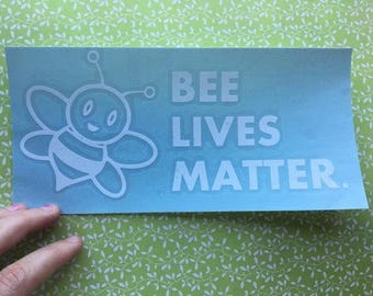 Bee Lives Matter Vinyl Decal