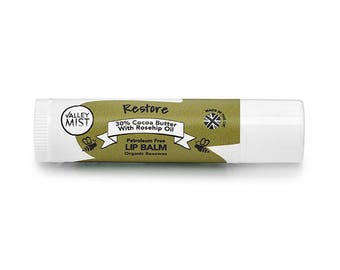 Restore lip balm by Valley Mist 4.25g - Small Mothers Day Gift - Gift for Girlfriend -