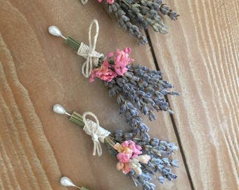 Rustic Boutonnieres / Corsages
