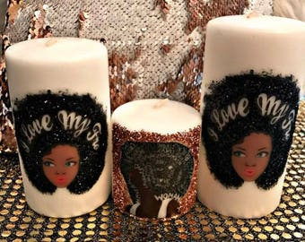 I love my afo candles set