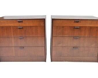 Mid Century dressers/nightstands (pair)
