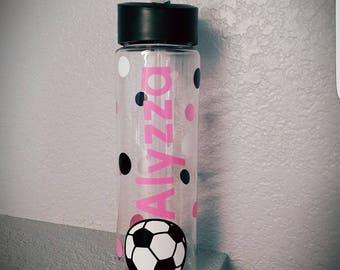 Sport Water Bottle, Personalized Sport Water Bottle, Water Bottle, Sport Team Gift