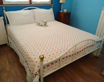 Double crochet bedspread