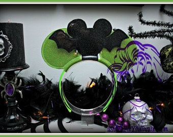 MoUSe BAT Inspired Character (3 Piece) Mr Miss Mouse Ears Headband ~ In the Hoop ~ Downloadable DiGiTaL Machine Emb Design by Carrie
