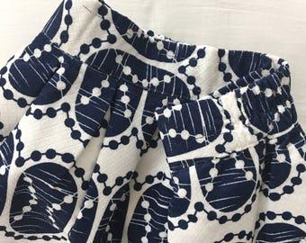 Cute pattern Short Skirt