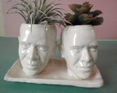Obama twins planter