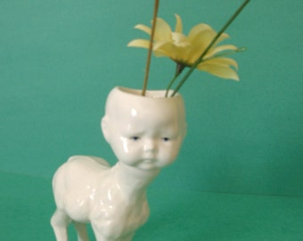 little Donkey baby vase