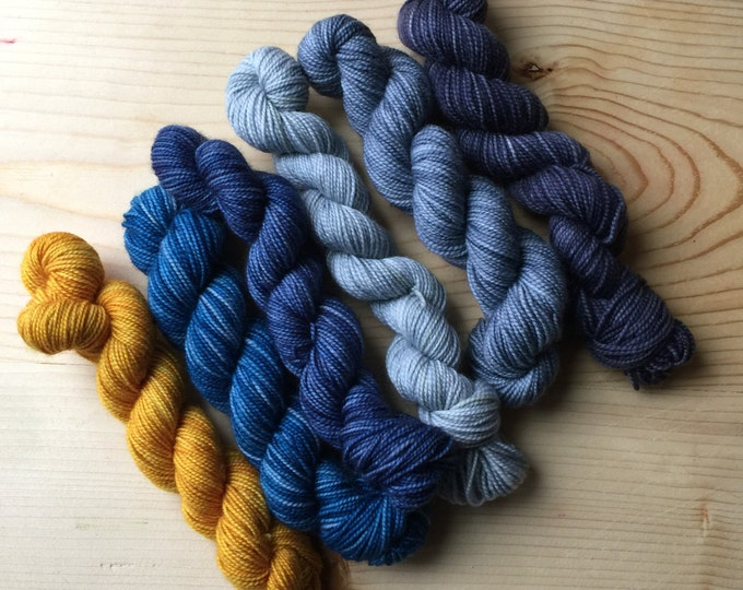 Featured listing image: science is real - six quarter skeins