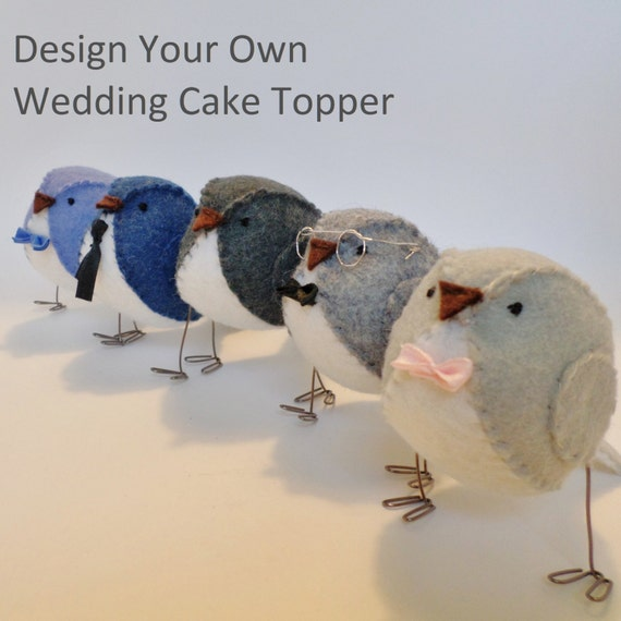 Design Your Own Photo Cake : Design your own wedding cake topper you choose the by ...