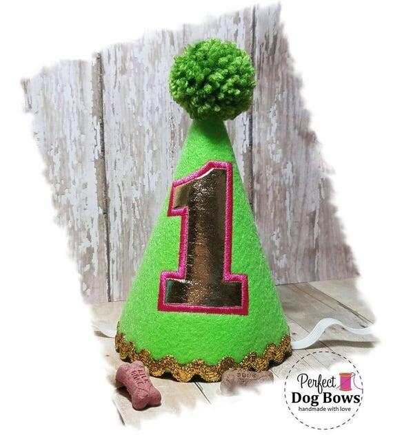 Dog Birthday Hat, Dog Party Hat, Puppy 1st Birthday, Dogs First Birthday, Pet Lover Gifts