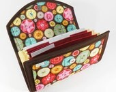 COUPON / EXPENSE / RECEIPT Organizer - Sewing Box - Coupon Organizer Coupon Holder Cash Budget Buttons
