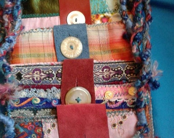 Collection of 5 Handmade Bohemian Bags