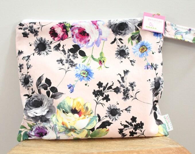 Wet Bag wetbag Diaper Bag ICKY Bag wet proof floral flower gym bag swim cloth diaper accessories zipper gift newborn baby child kids summer