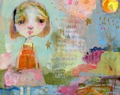 Eternal Renewing - mixed media art print by Mindy Lacefield