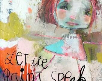 Let the Paint Speak - online class