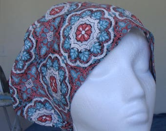 Sweet and Sassy Hattie  Style...............Surgical Hat....Bakers Hat