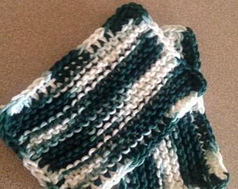 2 double knit sponges