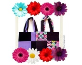 Lavender Tote Bags The Lavender Special Two Tote Bags Special Pricing Floral Bags Lavender Bags Gifts for Her Small Gifts Party Favors Bags