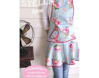 Grand Revival STELLA APRON Sewing Pattern