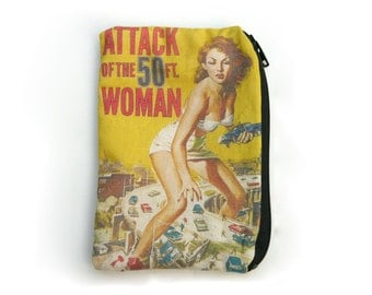 Attack of the 50 Foot Woman Pouch