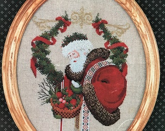 Counted Cross Stitch pattern -  Gift of Peace by Mariyn Leavitt-Imblum 1990 from Lavender and Lace