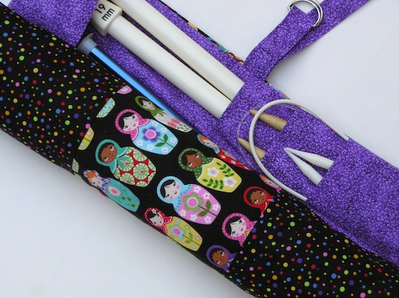 Extra Large Knitting Needles Uk : Large knitting needle case organizer
