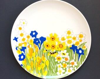 Vintage Vera Neumann for Mikasa Serving Platter - Field Flowers Platter