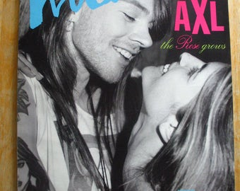 Vintage Interview Magazine-Andy Warhol-Axl Rose-Robert Altman, Annie Lennox-1992