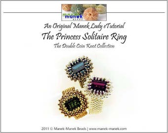 eTUTORIAL The Double Coin Knot Princess Solitaire Ring