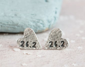 Marathon Earrings, Runners Earrings, gift for runner, marathon runners earrings, running jewellery, runners jewellery, marathon jewellery