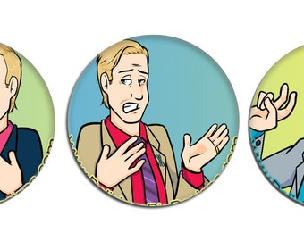 Pinback Button - Breaking Bad - Better Call Saul