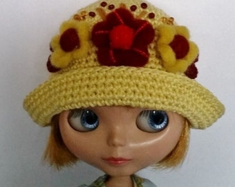 Blythe Hat Yellow Happiness