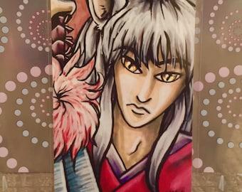 "Inuyasha - 6x4"" Matte Art Print"
