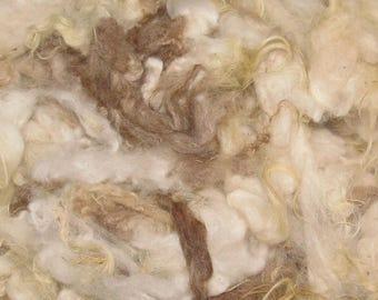 Icelandic fleece, 4 ounces, 6-7 inch Varied  117