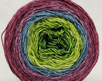 Hummingbird Gradient, 100g Greatest of Ease, dyed to order