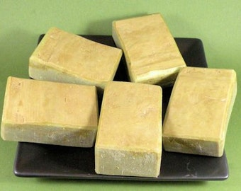 ROSEMARY LIME Cold Process Soap with Olive Oil and Shea Butter - Vegan ((Clearance))