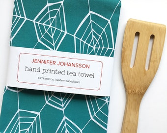 Tea Towel - Screen Printed Tea Towel - Kitchen Towel - Flour Sack Towel - Cook Gift - Gifts Under 20 - Gift for Mom - Kitchen Decor
