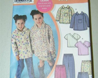 Simplicity Girls Top Pants Skirt Jacket Pattern 7188 Size 3 - 8 12650
