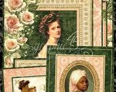 SALE PREORDER Graphic 45 Portrait of a Lady Ephemera Cards