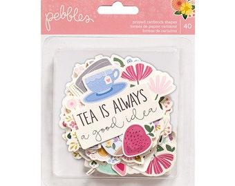 Pebbles Tealightful Ephemera Pack