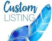 Custom listing for jodiraeskish