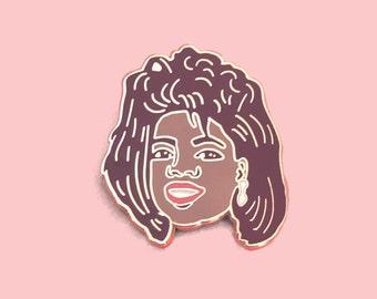 Lapel Pin Oprah Winfrey Hair of 89