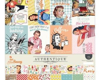 """Saucy Authentique Collection Kit 12""""X12"""" • Retro Paper (SAU012)"""