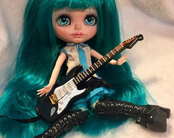 Blythe Doll Customized Hatsunemiku custom made Art Doll One of a Kind calipso anime vocaloid