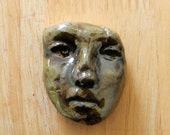 stoneware face number nine