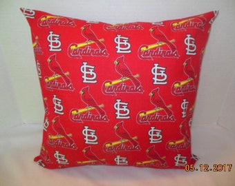 St. Louis Cardinals Baseball Pillowcase/Sham